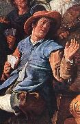 MOLENAER, Jan Miense The Denying of Peter (detail) ag oil painting artist